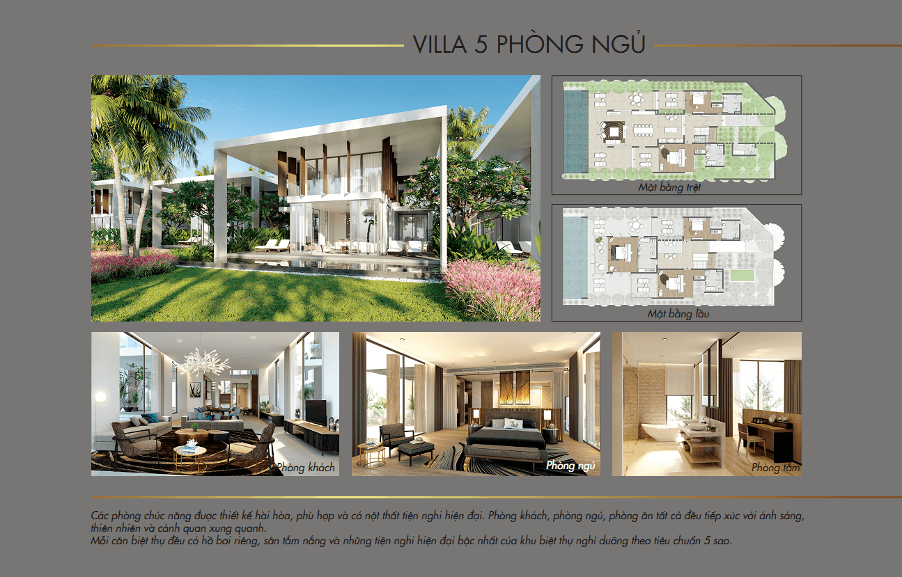Biệt thự 5pn Vogue Resort 2